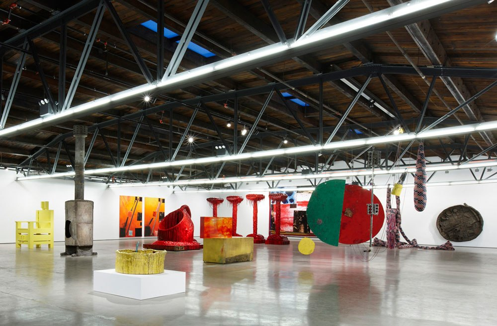 Sunrise Sunset (Installation view), 2014 at Hauser & Wirth New York
