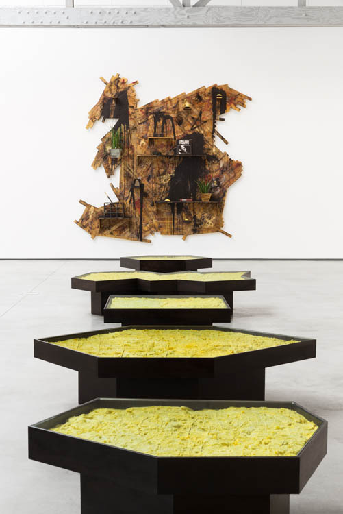 Rashid Johnson David Kordansky Gallery