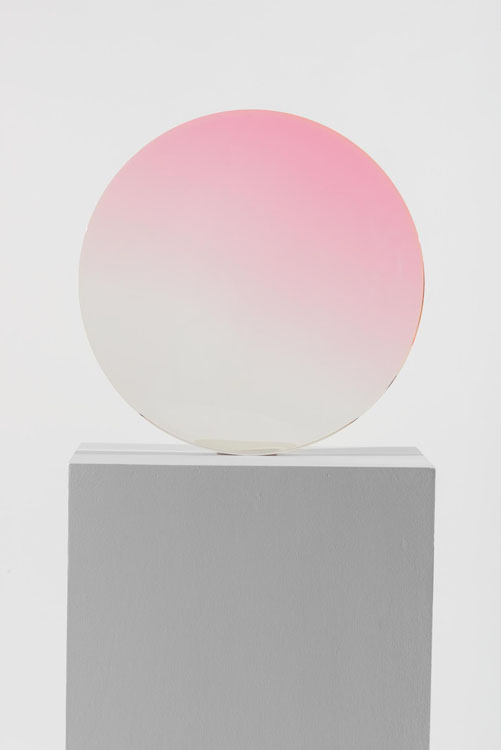 De Wain Valentine, Circle, Clear Rose, 1970, Almine Rech Gallery