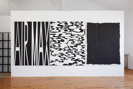 Charlie Verot, Air Max / Glamouflage / Black painting #2, 2019, #7 clous à Marseille