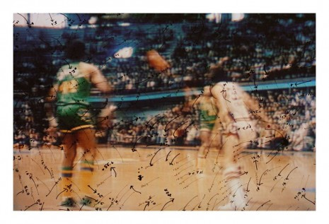 Howardena Pindell, Video Drawings: Basketball, 1975 , Matthew Marks Gallery