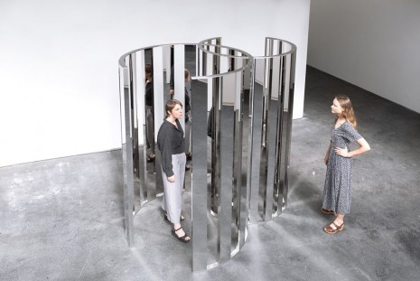Jeppe Hein, Intersecting Circles, 2019 , 303 Gallery