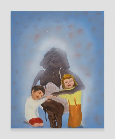 Tala Madani, Family Portrait, 2019 , David Kordansky Gallery