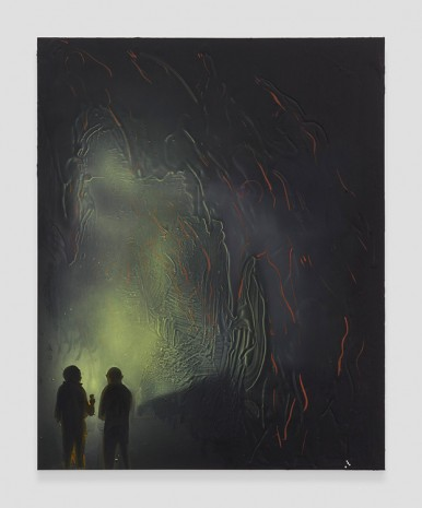 Tala Madani, Cave Interior #1, 2019 , David Kordansky Gallery