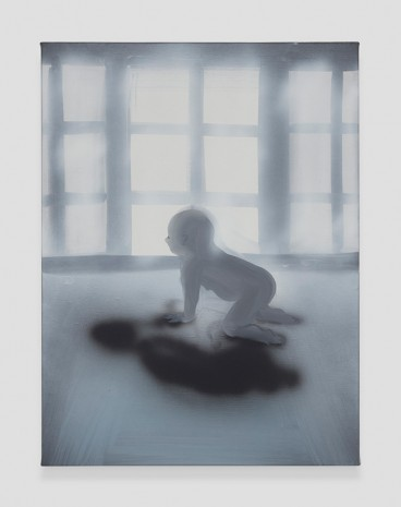 Tala Madani, Crawling Morning (Window), 2019 , David Kordansky Gallery