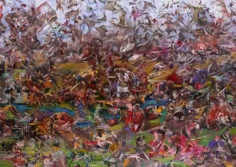 Ali Banisadr, It's in the Air, 2012, Galerie Thaddaeus Ropac