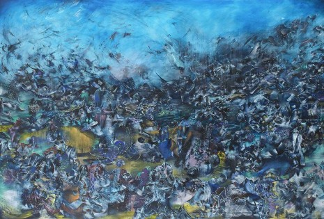 Ali Banisadr, We Haven ́t Landed on Earth yet, 2012, Galerie Thaddaeus Ropac