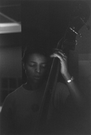 Roy DeCarava, Edna Smith, bassist, 1950, David Zwirner