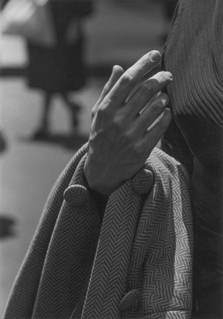Roy DeCarava, Hand and coat, 1962, David Zwirner