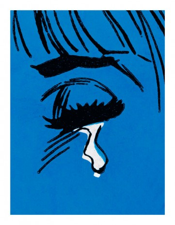 Anne Collier, Woman Crying (Comic) #14, 2019 , Galerie Neu