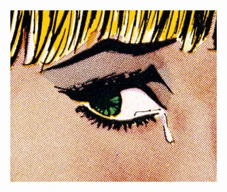 Anne Collier, Woman Crying (Comic) #8, 2019 , Galerie Neu