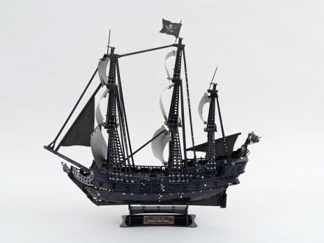 Karen Kilimnik, the fairy pirate ship - a bedazzled ship - Cubic Fun Puzzle, 2019 , 303 Gallery