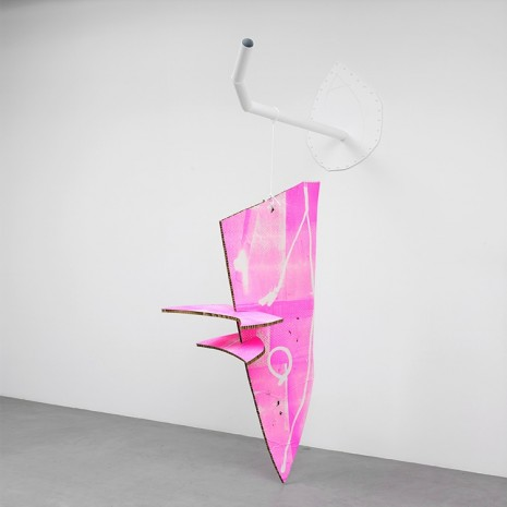 Aaron Curry, OLV, 2012, Almine Rech