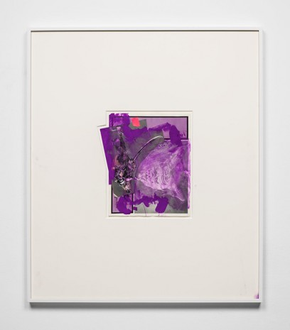 Aaron Curry, PURP WHITE BAZ, 2012, Almine Rech