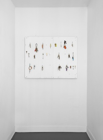 Phillip Lai, Untitled (keys), 2012, Galleria Franco Noero
