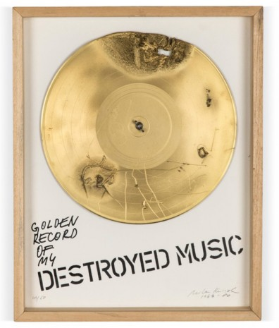 Milan Knízák, Golden Record of My Destroyed Music, 1963-1980 , Cardi Gallery