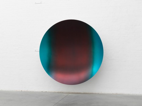 Anish Kapoor, Glisten (Cobalt Blue to Red mix 2), 2018, Lisson Gallery