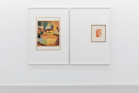 Lisa Tan, Waiting Room of a Psychologist (Paul Klee, With Two Dromedaries and One Donkey, 1914/19) / Waiting Room of a Psychologist (Leonardo da Vinci, Study for the face of Saint Anne, 1500), 2019, Galleri Riis