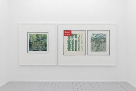 Lisa Tan, Waiting Room of a Neurologist (Claude Monet, The Water Lily Pond: Green Harmony, 1899) / Waiting Room of a Neurologist (Terence Warren, Welcome Intrusion and A Snip In Time, 1979), 2019, Galleri Riis
