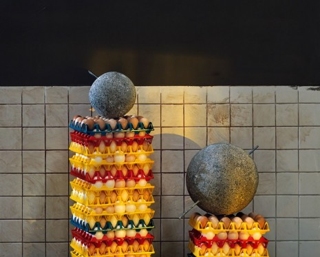Chen Wei, Stones and Eggs, 2019 , ShanghART