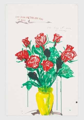 Raymond Pettibon, No Title (This being the...), 2019, David Zwirner