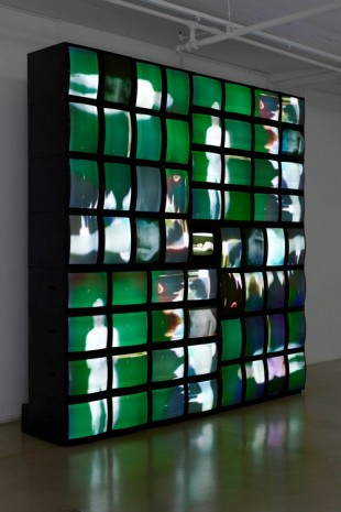 Nam June Paik, Main Channel Matrix, 1993-1996 , James Cohan Gallery