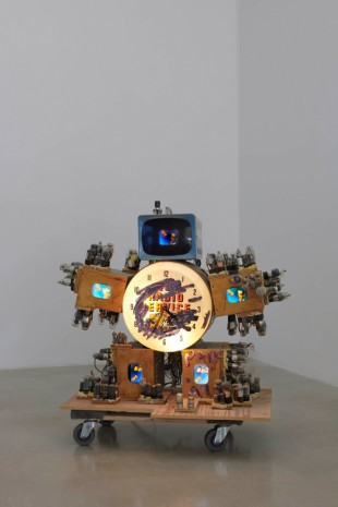 Nam June Paik, TV SERVICE ROBOT, 1997 , James Cohan Gallery