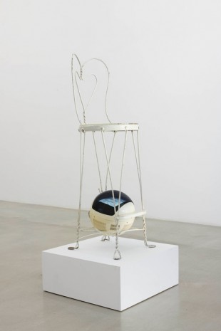 Nam June Paik, V Chair, 1973 , James Cohan Gallery