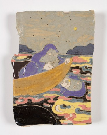 Kevin McNamee-Tweed, Moon In Boat, 2019 , Steve Turner