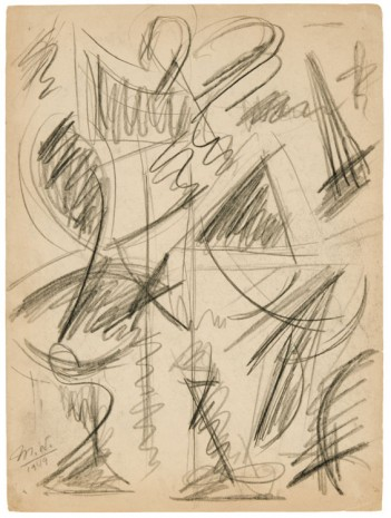 Michael (Corinne) West, Untitled [Double-Sided], 1949, Hollis Taggart