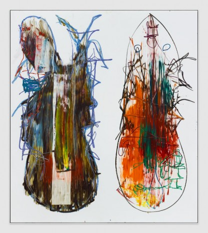 Aaron Garber-Maikovska, Daughter Duo 6, 2019, Massimo De Carlo