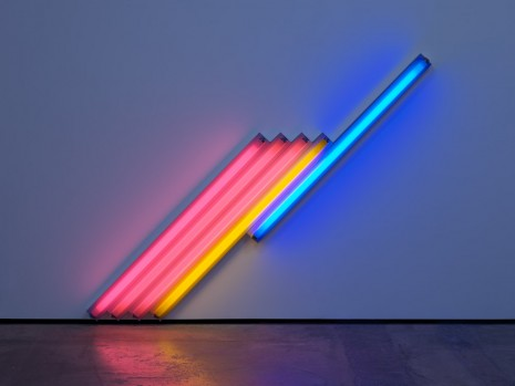 Dan Flavin, untitled (for Frederika and Ian) 3, 1987, David Zwirner