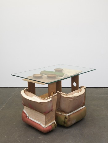 Jessi Reaves, Three bowl table, 2019 , Herald St