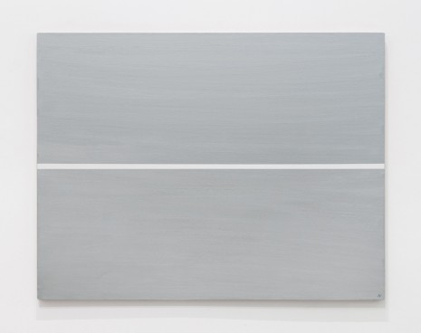Josip Vaništa, White line on a silver surface, 1968‒1997 , The Mayor Gallery