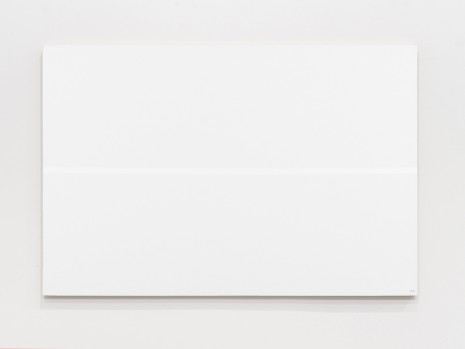 Josip Vaništa, White line on a white surface, 1968‒1997 , The Mayor Gallery