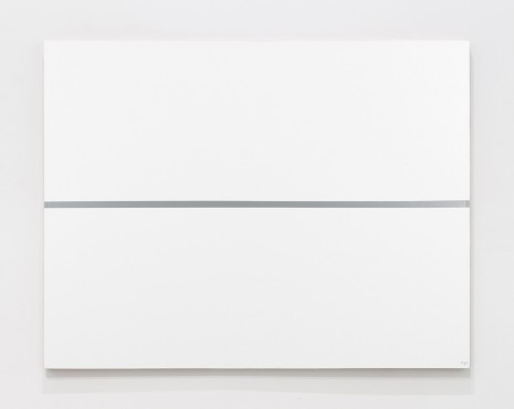 Josip Vaništa, Silver line on a white surface, 1964‒1997 , The Mayor Gallery
