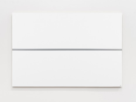 Josip Vaništa, Silver line on a white surface, 1968‒1997 , The Mayor Gallery