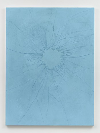 Robert Bordo, crackup #10 (frost), 2019 , Bortolami Gallery