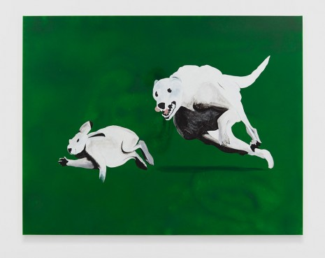 Calvin Marcus, Dog and Rabbit, 2019 , David Kordansky Gallery