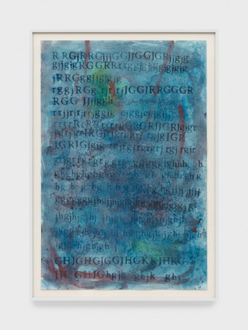 David Horvitz, When the Ocean Sounds (roaring waves in the distance), 2018 , Praz-Delavallade