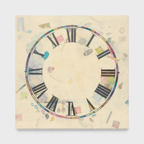Amanda Ross-Ho, Untitled Timepiece (SUBLIME CONDITIONS OF HORROR), 2019 , Praz-Delavallade