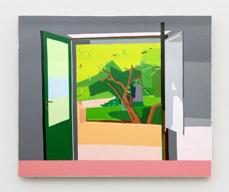 Guy Yanai, Tree Outside, 2019 , Praz-Delavallade