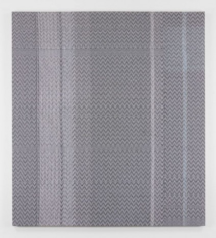 Heather Cook, Shadow Weave Black (13) + White (14) 8/4 Cotton 15 EPI, 2014 , Praz-Delavallade