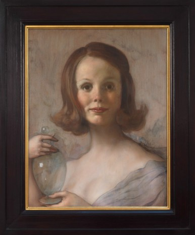 John Currin, Shelley, 2019, Gagosian
