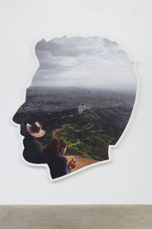 Alex Israel, Self-Portrait (Griffith Observatory), 2017 , Gagosian