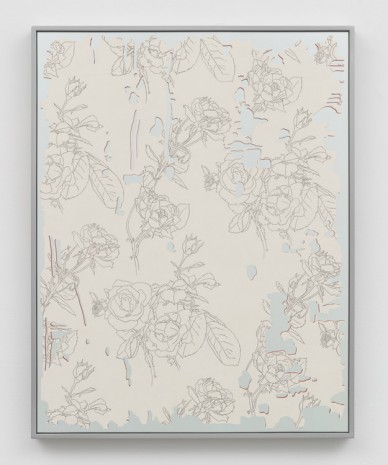 Caitlin Keogh, Rose/Mirror 4, 2019, Bortolami Gallery