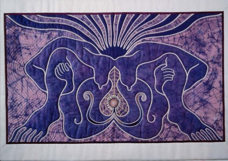 Judy Chicago, The Crowning Quilt, 1982 , Richard Saltoun Gallery