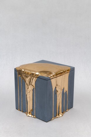 Nancy Lorenz, Moon Gold Pour Box, 2019 , GAVLAK