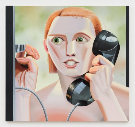 Robin F. Williams, Siri Calls for Help, 2018, Marianne Boesky Gallery