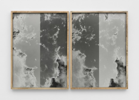 Lisa Oppenheim, Photograph of Nitrate Film Vault Test, Belsville Maryland Fire Pattern (1949/2019) (Version I), 2020 , Tanya Bonakdar Gallery